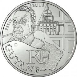 France 2012. 10 euro. Guyane Française. Félix Adolphe Éboué