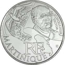France 2012. 10 euro. Martinique. Victor Schoelcher