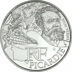 France 2012. 10 euro. Picardie. Jules Verne