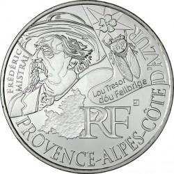 France 2012. 10 euro. Provence-Alpes-Côte d'Azur. Frédéric Mistral