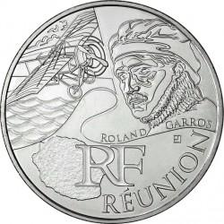 France 2012. 10 euro. Réunion. Roland Garros