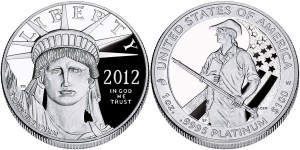 2012 American Eagle One Ounce Platinum Proof Coin