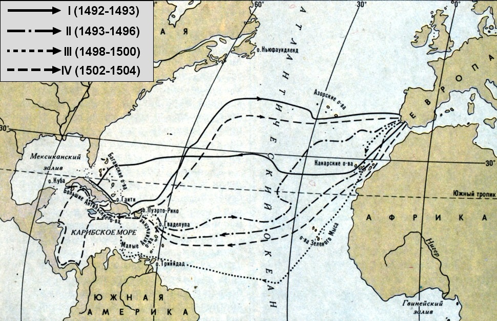 the voyages of christopher columbus The first new world voyage of christopher columbus one of the most important voyages in history was christopher-columbus-2136437 minster, christopher.