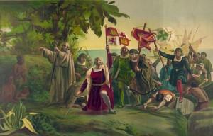 First landing of Columbus