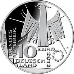 Germany 2012. 10 euro. DEUTSCHE NATIONAL BIBLIOTHEK 100 JAHRE