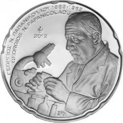 Greece 2012. 10 euro. 50th Anniversary of the Death of Georgios N. Papanicolaou