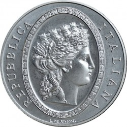 italy 2012. 5 euro. 150th Anniversary of the Italian Lira