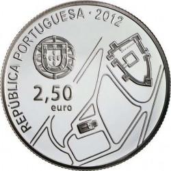 Portugal 2012. 2,5 euro. Historic Centre of Guimarães