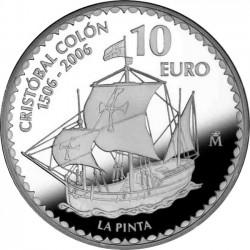 Spain 2006. 10 euro Christopher Columbus. Pinta