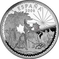 Испания 2006. 50 евро. 500 лет со смерти Христофора Колумба