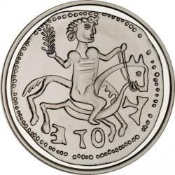 Spain 2012. 10 euro. Dinero de Alfonso VIII, acuñado en Toledo