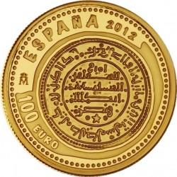 Spain 2012. 10 euro. Maravedí de Oro de Alfonso VIII.