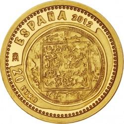 Spain 2012. 10 euro. Dinar Almohade.