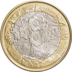 Finland 2012. 5 euro. flora