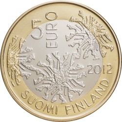 Finland 2012. 5 euro. Nordic Nature coin set