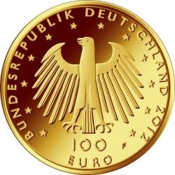 Germany 2012. 100 euro. Aachener Dom