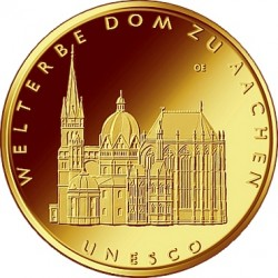 Germany 2012. 100 euro. Aachener Dom