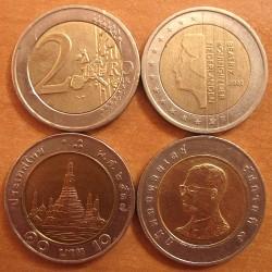 Евро и тайский бат