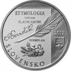 Slovak 2012. 10 euro. Anton Bernolák