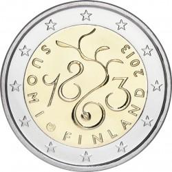 2 euro. Finland 2013. Diet of 1863