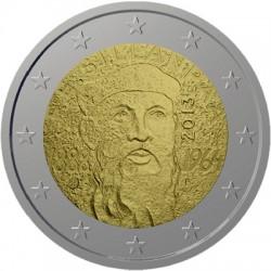 2 euro. Finland 2013. 125th Anniversary of the birth of Nobel prize winning author F.E.Sillanpaa
