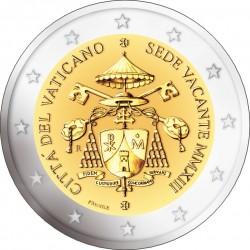 Vatican 2013. 2 euro. Sede Vacante