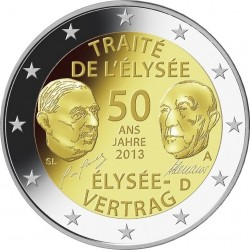 50 Years of Franco-German Friendship (DE)