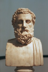 Bust of Aeschylus ( Roman marble copy)