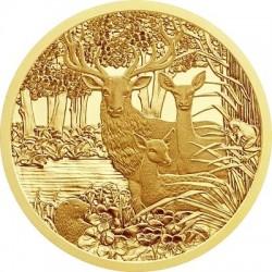 Austria 2013. 100 euro. Rothirsch