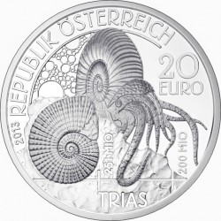 Austria 2013 20 euro Trias