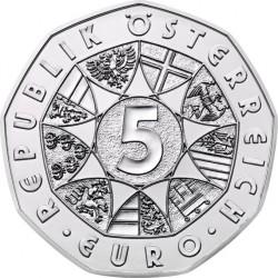 Austria 5 euro 2013 Land des Wassers (Ag)