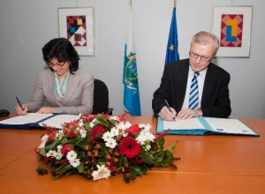 Signature of a Monetary Agreement between San Marino and the EU