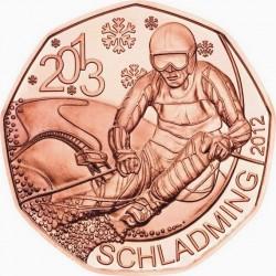 Austria 2012. 5 euro. Schladming 2013