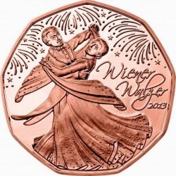 Österreich 2013. 5 euro. Viennese Waltz