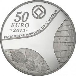France 2012. 50 euro. UNESCO 2012 - Le temple d'Abou-Simbel