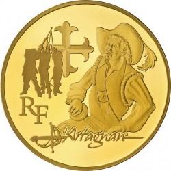 France 2012 50 euro d'Artagnan