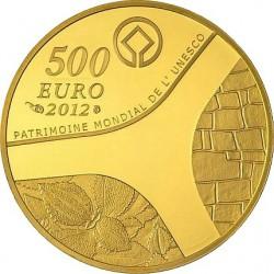 France 2012. 500 euro. UNESCO 2012 - Le temple d'Abou-Simbel