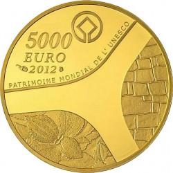France 2012. 5000 euro. UNESCO 2012 - Le temple d'Abou-Simbel