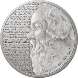 Greece 2012. 10 euro. Greek culture. Philosophers – Socrates