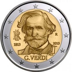italy 2 euro 2013 Verdi