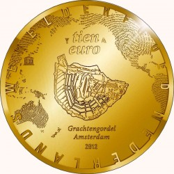 Netherlands 2012. 5 euro. Canals of Amsterdam