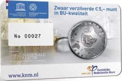 Niederlande 2012. 5 euro. canals Amsterdam (card)