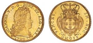 Peça 1722 - Lisboa, de D. João V