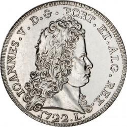 Portugal 2012. 5 euro. Peça 1722 - Lisboa, de D. João V