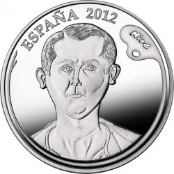 Spain 2012. 10 euro. Joan Miró. Autoportrait