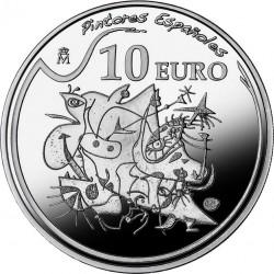 Spain 2012. 10 euro. Joan Miró. Morning Star