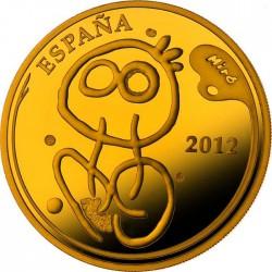 Spain 2012. 10 euro. Joan Miró. Autorretrato