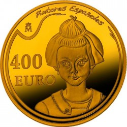 Spain 2012. 10 euro. Joan Miró. Retrato de una niña