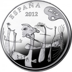 Spain 2012. 10 euro. Joan Miró. Pintura