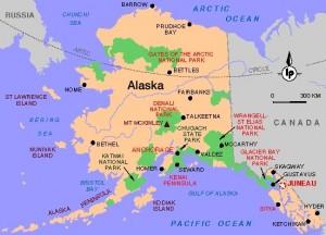 Denali National Park map